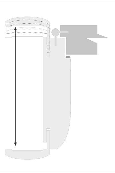 Block rounded frame
