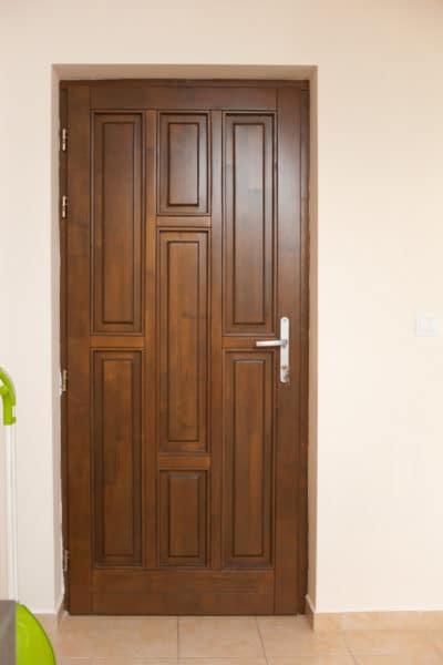 7 Pane Fir Single Door